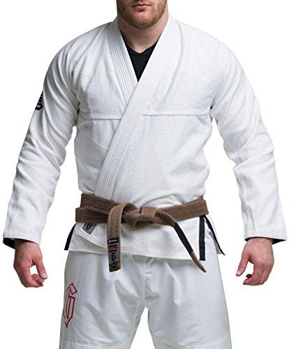 Gameness Jiu Jitsu Air Gi White A4