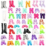 Miunana 50 Pairs Different High Heel Shoes...