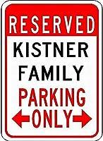 金属サインキストファミリー駐車場ノベルティ錫ストリートサイン