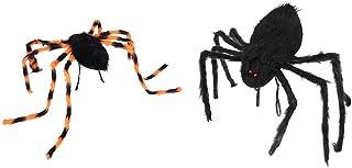 Toyvian Halloween Gaint Spider Decorations Halloween Hairy Spiders Backpack for Indoor Outdoor Yard Haunted House Decorati...