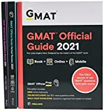 gmat official guide 2021 bundle, books + online question bank: books + online + mobile
