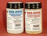 MAX Bond THIXOTROPIC Industrial Grade Non Flowing Epoxy - 1/2 Gallon Kit - Structural Adhesive - High Strength Bonding - Marine Grade - FDA Compliant Adhesive - Waterproof - Vertical Application