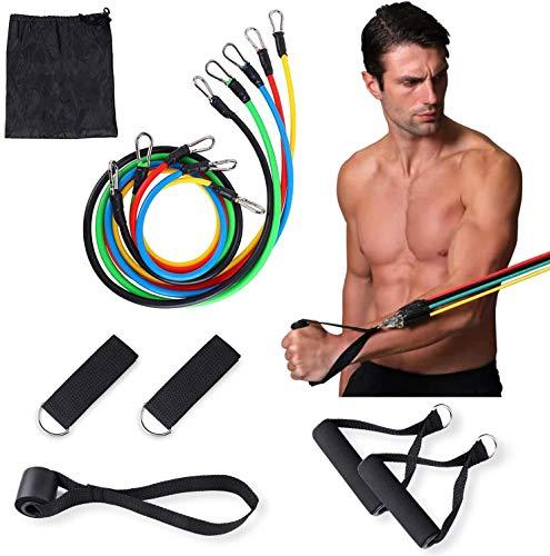 osloon Conjunto de Bandas de Resistencia Entrenamiento de Resistencia, Fisioterapia, Equipamiento Deportivo para el hogar