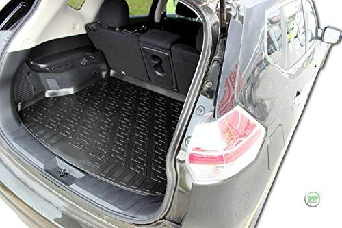 J&J AUTOMOTIVE Premium Antirutsch Gummi-Kofferraumwanne für Nissan X-Trail III T32 ab 2013