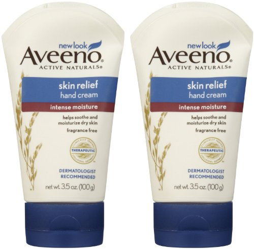 Aveeno Intense Moisturizer Hand Cream - 3.5 oz - 2 pk