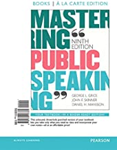 Mastering Public Speaking, Books a la Carte Edition Plus Revel -- Access Card Package (9th Edition)