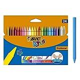 Niños Plastidecor Crayons Color Dureza larga duración afilable Vivid Surtido Ref. 829772...