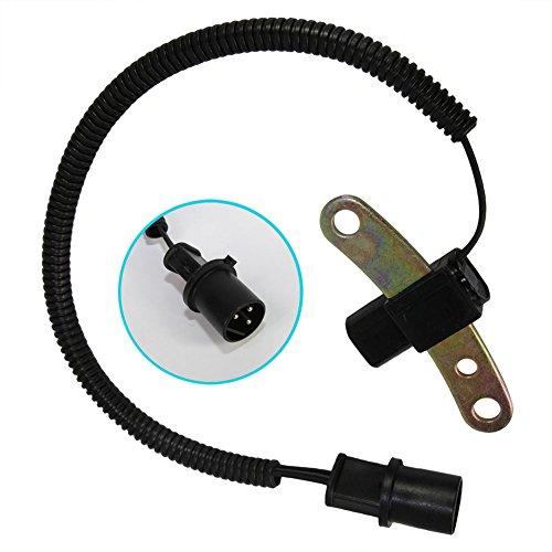 DOICOO Crank Crankshaft Position Sensor 53009954 4638128 Compatible with 1991 1992 JEEP Cherokee Comanche Wrangler 2.5L 4.0L Fit 56027866AB PC-130 53006154 56027042 56027070 5S1804 SU369 213-2372