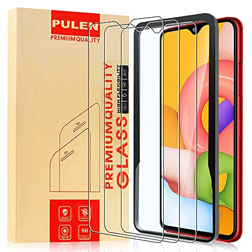 Samsung Galaxy A01 Clear Scratch-resistant Screen Protector by PULEN