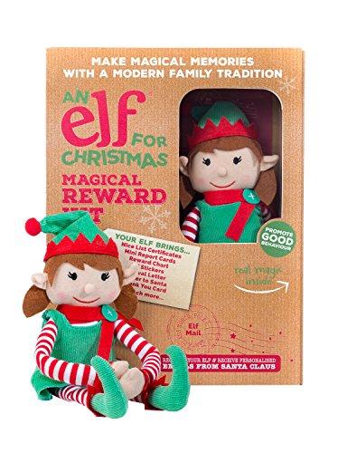 An Elf For Christmas Un Elfo para Navidad elf002niña mágico Kit de recompensa