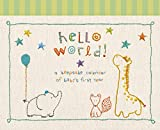 CR Gibson Baby's First Year Keepsake Calendar -- Newborn Baby Gift Set / Memory Book / Baby Journal (Made with Love)
