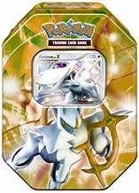 Pokemon 2009 Exclusive Collector Tin Set Arceus with Arceus LV.X Card Green Tin (4 Pokémon TCG booster packs)