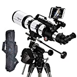 WW&C Professional Deep Space, Travel Telescope Telescope for Kids Adults Astronomy Beginners,...