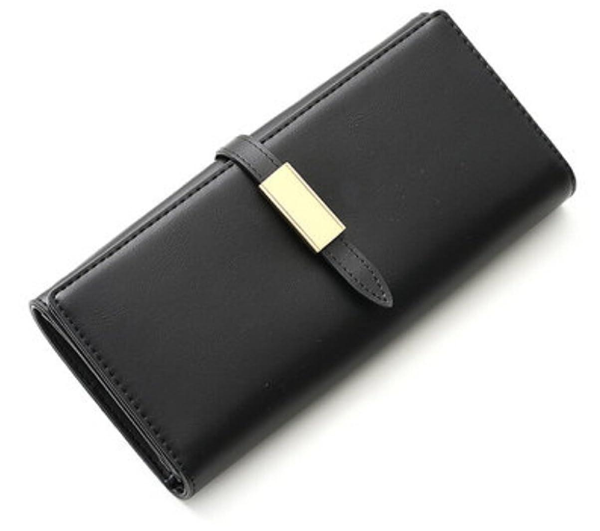 不器用代数的慢なYouchan(ヨウチャン) レディース 長財布 コンパクト 無地 シンプル 薄型 写真入れ トレンド 大容量 上品 エレガント 通勤 プレゼント