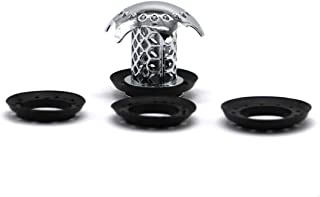 FitHom Tub Sinks Drain Protector Hair Catcher/Strainer,Stainless Steel Wash Basin Floor Drain Plug for Deodorant and Anti-...