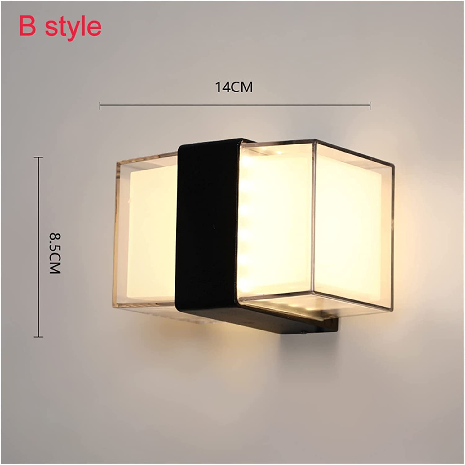 wall lamp Aluminum Human Body Motion Light Now on sale IP65 Wall LED Spasm price Sensing