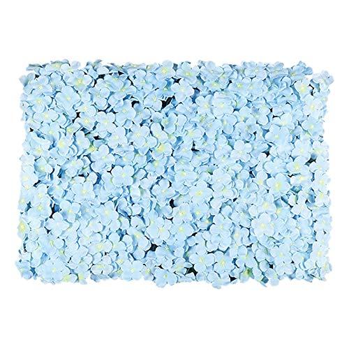 Andifany 60X40Cm KüNstliche Blume Wanddekoration StraaE Blei Hortensie Blumenmatte Hochzeit Bogen Pavillon Ecken Dekor Blumen