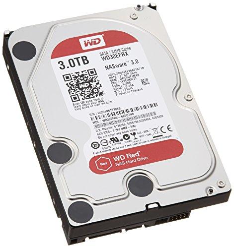 【国内正規代理店品】Western Digital WD Red 内蔵HDD 3.5インチ NAS 用 3TB SATA 3.0(SATA 6Gb/s)  WD30EFRX