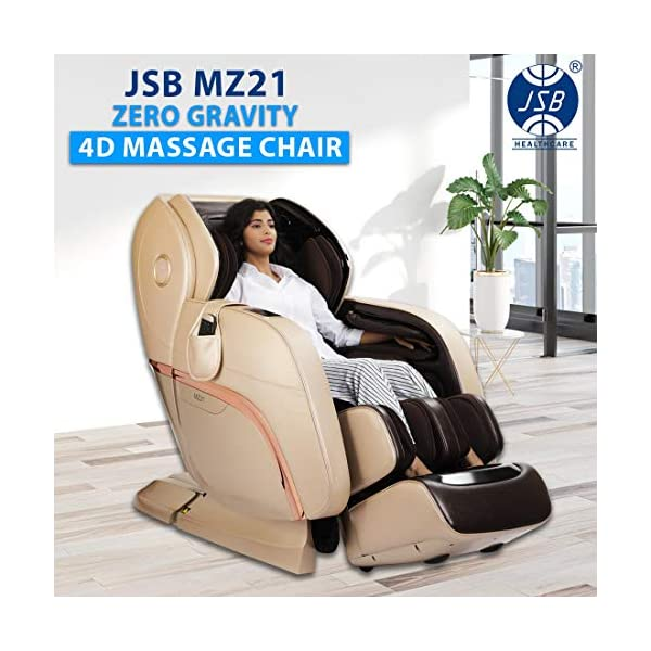 JSB MZ21 4D Massage Chair Review India 2020