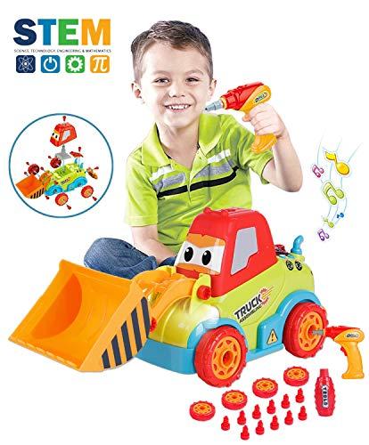 LUKAT Take Apart Toys Truck Toddler DIY...