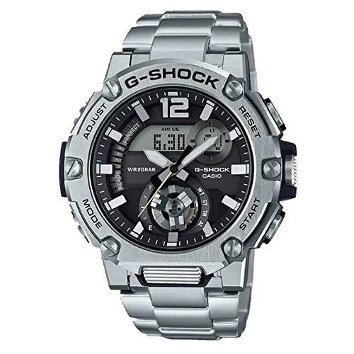 Casio G-Shock By Men's GSTB300SD-1A Analog-Digital Watch Stainless Steel