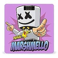マシュメロ Marshmello (7) 体重計 デジタル 電子スケール ヘルスメーター 電源自動ON/OFF バックライト付き 高精度ボディースケール コンパクト 電池式 薄型 収納便利 体重管理