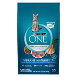 Purina ONE Natural Senior Dry Cat Food, Vibrant Maturity 7+ - 3.5 lb. Bag