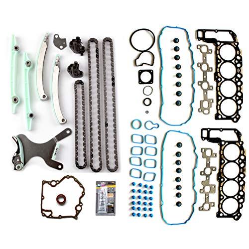 ANPART Automotive Replacement Parts Engine Kits Timing Chain kit Head Gasket Sets Fit: Dodge Dakota 4.7L 2000-2003