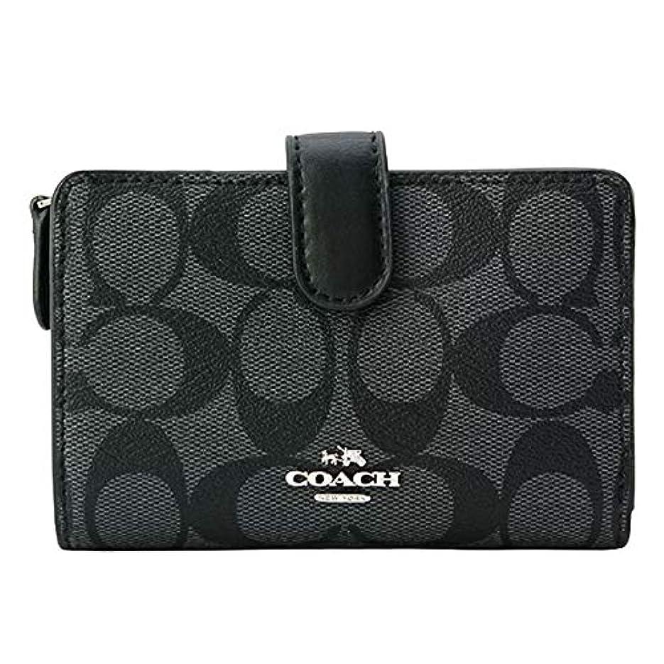 剪断毒性ドメインCOACH コーチ 二つ折り 財布 F23553 SVDK6