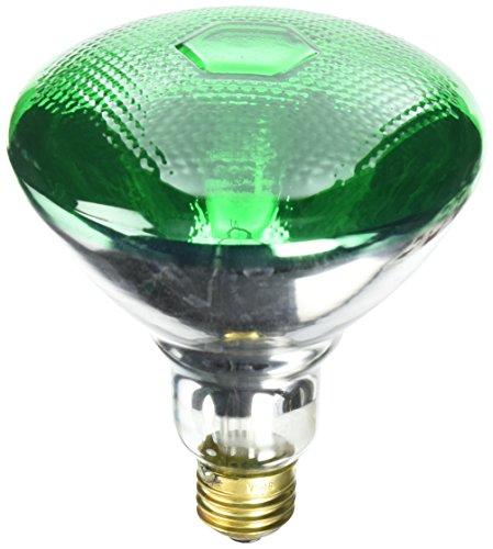 Westinghouse Lighting Green 0441300, 100 Watt, 120 Volt Incandescent BR38 Light Bulb-2000 Hours, 1 Pack