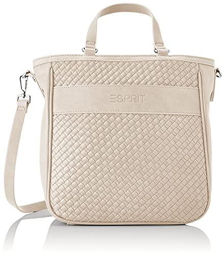 Esprit 051EA1O308, Shopper para Mujer, 290/beige Claro, Einheitsgröße