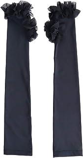 [サワ アラモード] 華やか チュール UV対策 アーム カバー レディース ファッション 小物 アームカバー 日よけ 日焼け対策