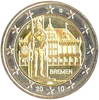 2 € Niemcy 2010 F Brema