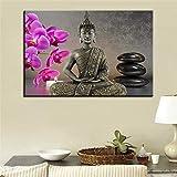 BailongXiao Cuadro En Lienzo Estatua de Buda Moderna Imagen de Arte onhomewall60x90cmPintura sin Marco