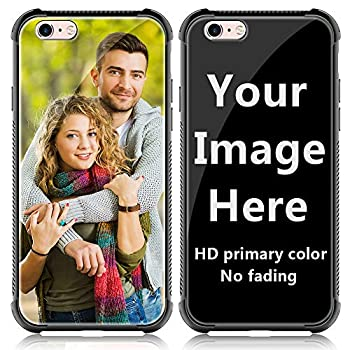 shumei Custom Case for Apple iPhone 6 Plus or iPhone 6S Plus Glass Cover 5.5 inch Anti-Scratch Soft TPU Personalized Photo Make Your Own Picture Phone Cases