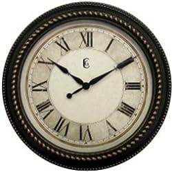 Geneva Clock Plastic Wall Clock, 16-Inch