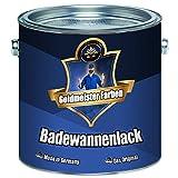 Goldmeister - Juego de pintura para bañera (2 componentes, revestimiento para cerámica, esmalte, acrílico, porcelana, acero, azulejos, plástico), Beige