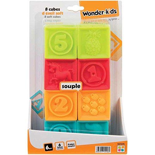 WDK Partner Cubes d'Eveil 8 Pièces