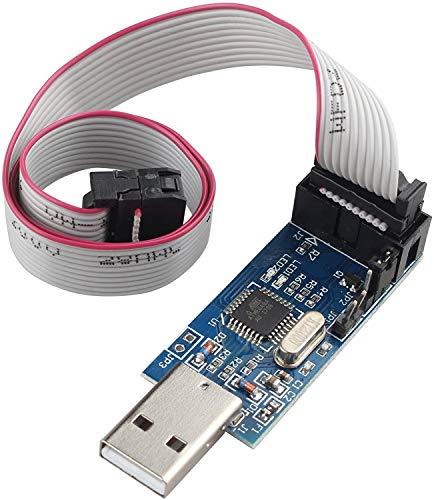 HALJIA USBASP USBISP programador Downloader para 51 AVR