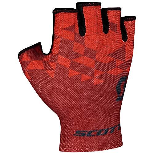 Scott RC Team Fahrrad Handschuhe kurz Fiery rot/schwarz 2021: Größe: M (9)