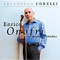 コレッリ:ヴァイオリンとヴィオローネまたはチェンバロのためのソナタ 作品5 Vol.1