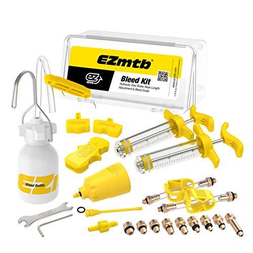 Kit de herramientas de aceite de freno de bicicleta, herramienta de purga...
