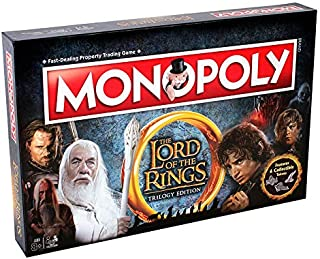 Winning Moves – Board Game – Monopoly – Lord of The Rings Collectors Edition Italian Version, 02394