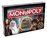 Winning Moves- Gioco da Tavolo-Monopoly Lord of The Rings Edizione da Collezione Versione...