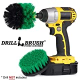Household Cleaners - Drill Brush - Kitchen - Cleaning Supplies - Grout Cleaner - Cast Iron Skillet - Pots and Pans - Scrub Brush - Stove - Oven Rack - Sink - Kitchen Table - Spin Brush - Baseboards