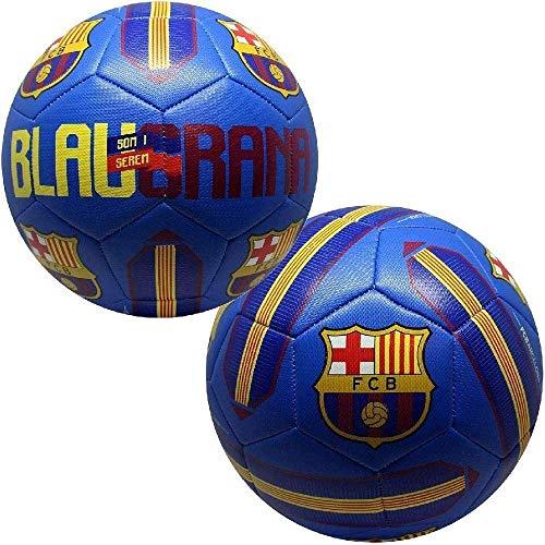 CASARI B.V. Balón de fútbol Infantil Barcelona Blaugrana Bl, Rojo y Azul, 5