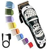 Pro Haarschneider, BESTBOMG Gorilla Haarpflege-Kits mit 8 Führungskämmen, 2000mAh...
