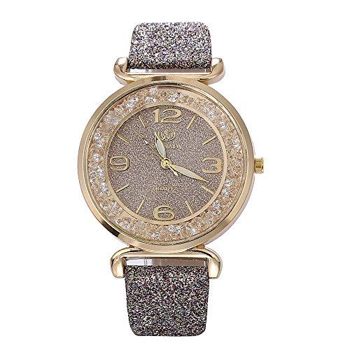 Yesmile Reloj de regalo de San Valentín Reloj de moda de las mujeres como cristal Metal inoxidable Reloj de pulsera de cuarzo