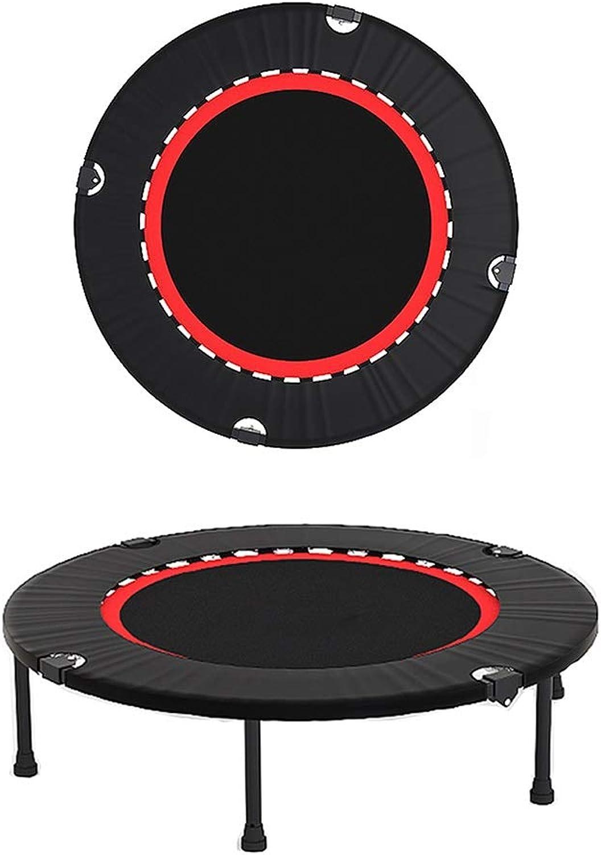 GHHZZQ Fitness-Trampolin Abnehmen Stress Abbauen Falten Tragbar Aerobic übung Geeignet Für Kinder Und Erwachsene, 2 Gren (Farbe   Schwarz, Größe   120cm)