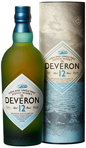 The Deveron Single Highland Malt Whisky 12 Jahre (1 x 0.7 l)